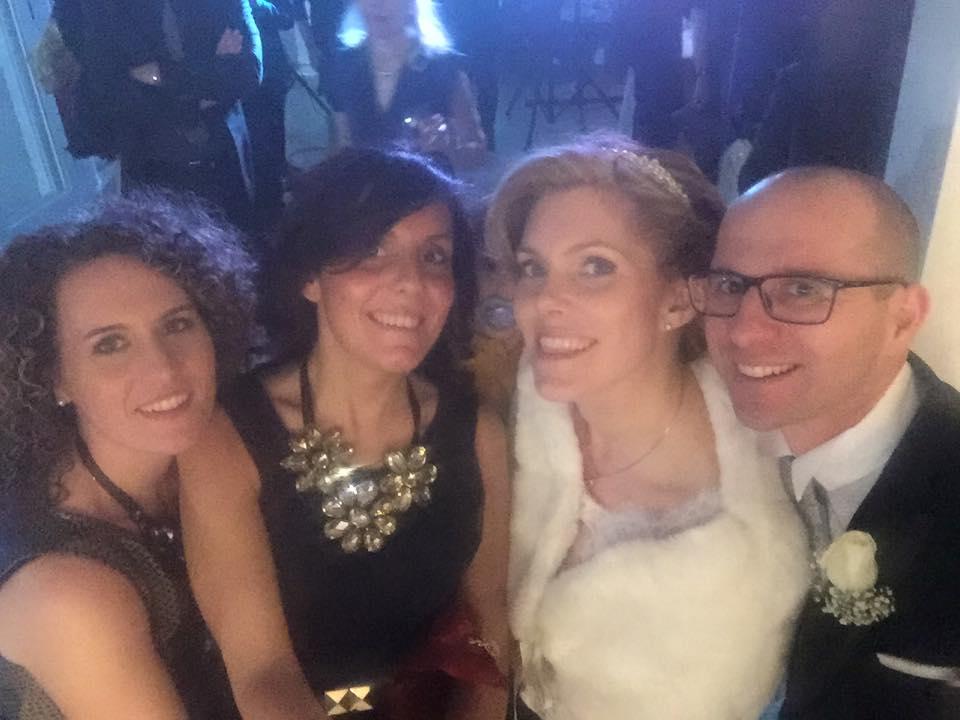 Barbara Baudone e Fidenzio Boscolo sposi a capodanno 2015