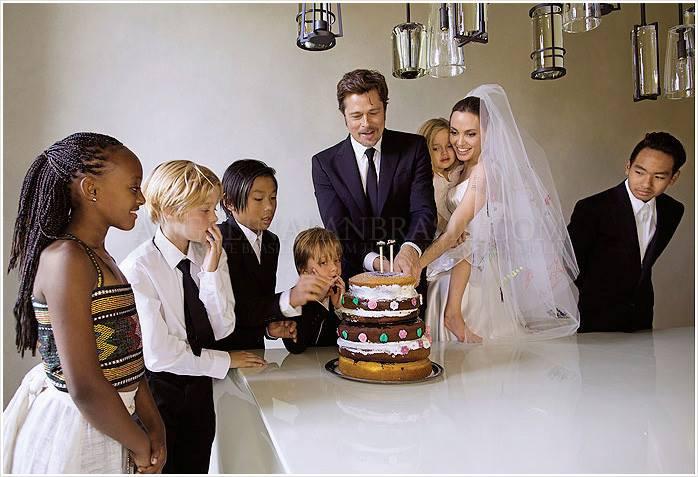 Pitt e Jolie, matrimonio vip in forma privata | Invito a nozze