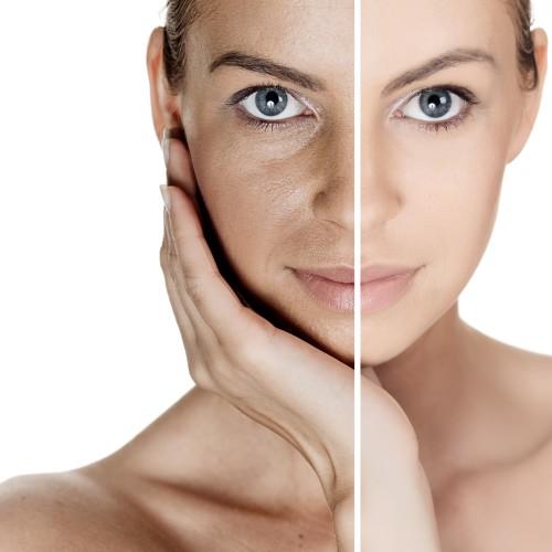 pulizia del viso con ossigeno
