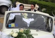 Enrico Mainardi e Alma Ramirez Vidal, con il matrimonio è tutta un'altra musica