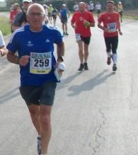 Carlo Vani alla Venice Marathon