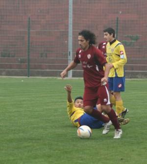 Clodiense Santiago Ponce l'autore del gol