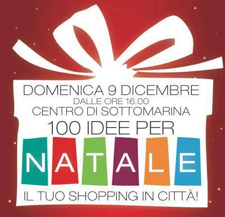 100 idee per Natale, lo shopping a Sottomarina
