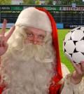 Babbo Natale calcio