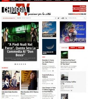 ChioggiaTV presenta il nuovo sito