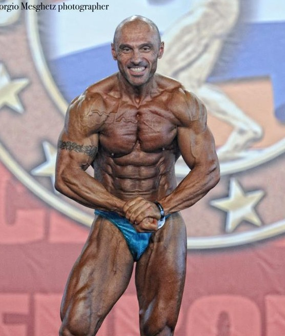 eddi badoer body building