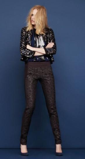 Chioggiatv Damascati Pantaloni Il Dell'inverno Trend wfq4I7