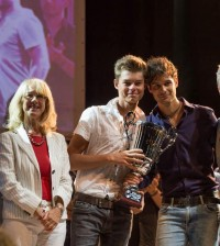 Morris e Alex premiazione primi classificati Mirano Summer  Contest