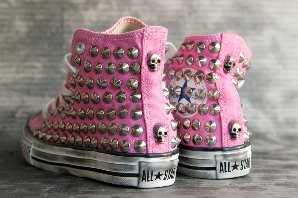 2converse all star rosa chiaro