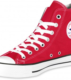 converse all star rosse alte