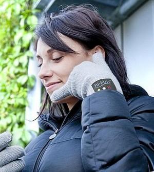 RISPONDERE AL TELEFONO CON LE DITA