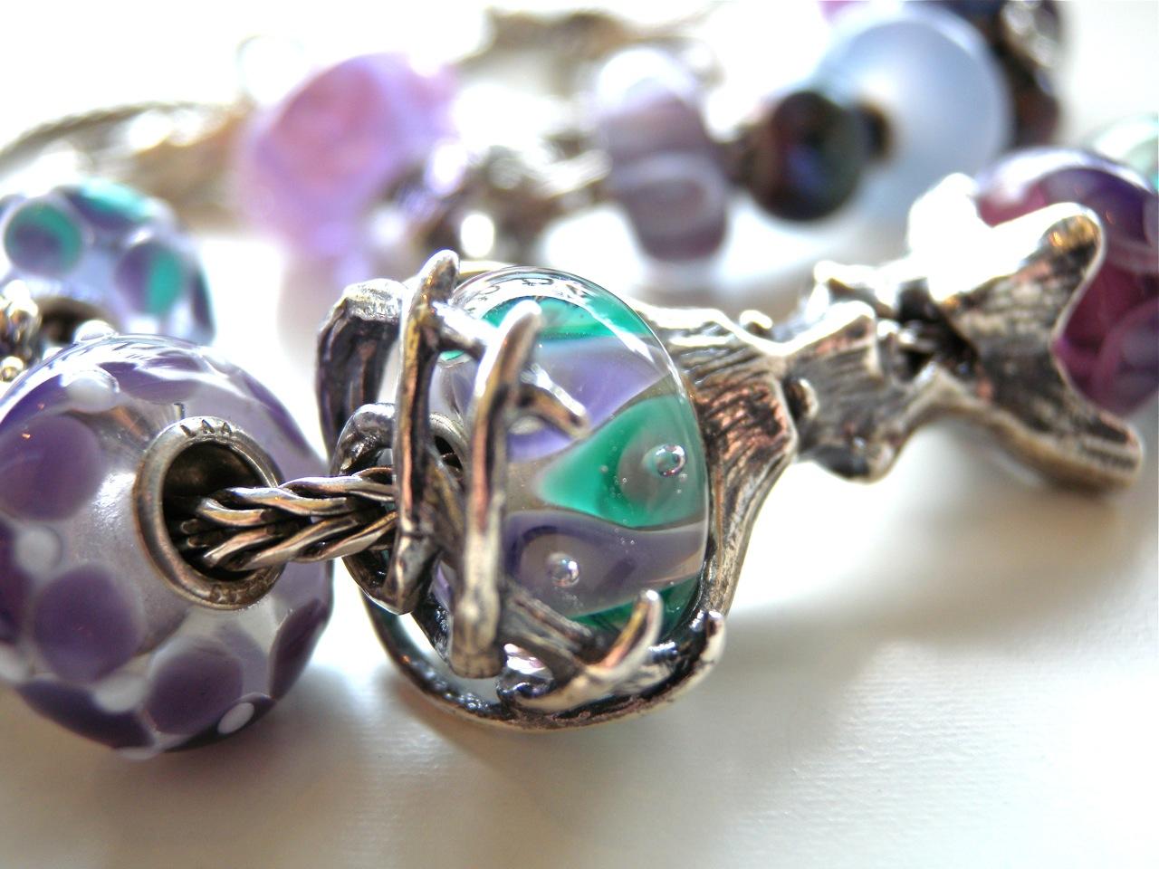 perline di vetro pandora