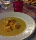 zuppa porri e patate
