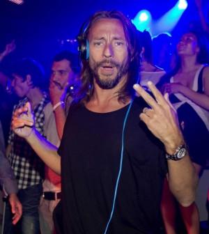 Il dj Bob Sinclar al Gotha Nightclub a Cannes
