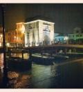 acqua alta chioggia notte porta garibaldi