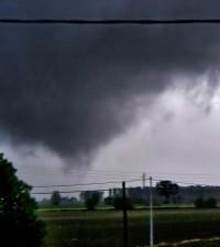 Tornado a Brugine