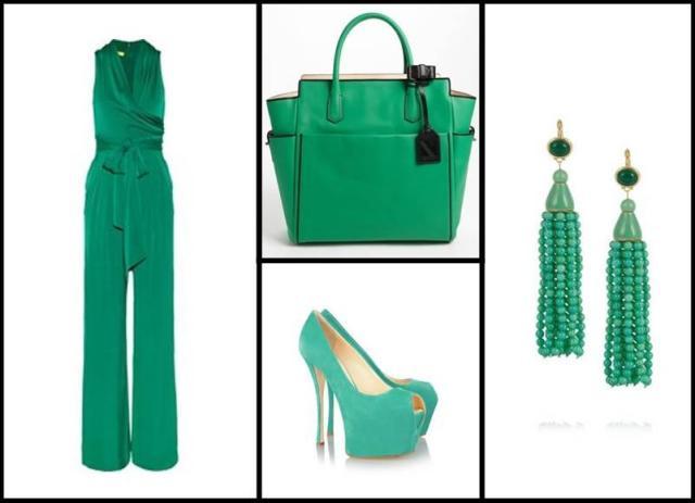 Combinaciones con color verde