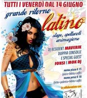 Coco Loco venerdì latino