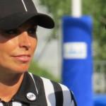 Chiara Tomaz arbitro football americano