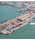 Zona nuovo mercato ittico all'ingrosso