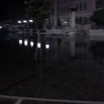 Sottomarina sott'acqua - piazza Todaro