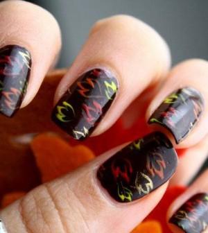 unghie d'autunno