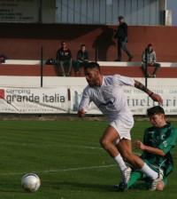 Clodiense- formigine Gianluca Franciosi in azione