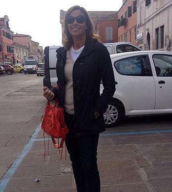 Cristina Parodi a Chioggia