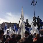 Manifestazione artigiani commercianti chioggia a Roma