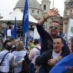 manifestazione chioggiotti a Roma