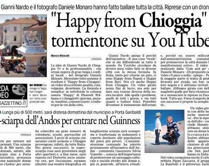 we are happy from chioggia