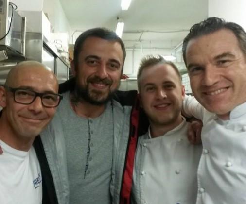 chef rubio unti e bisunti a sottomarina al ristorante aurora