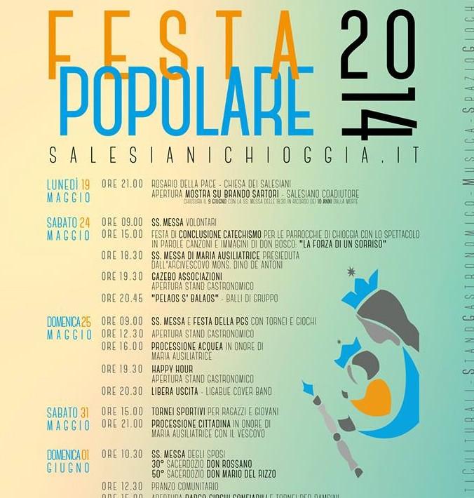 Festa Popolare Programma 2014