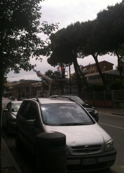 intervento luci viale Padova