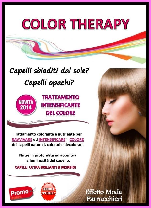 Parrucchiera Effetto Moda Presenta Color Therapy Un Bagno Di Luce