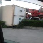 incidente intervento vigili del fuoco