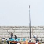 massimo barca tradizionale con sacchi