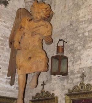 In dono al Museo della Torre dell'Orologio di Sant'Andrea una scultura lignea sull'Annunciazione