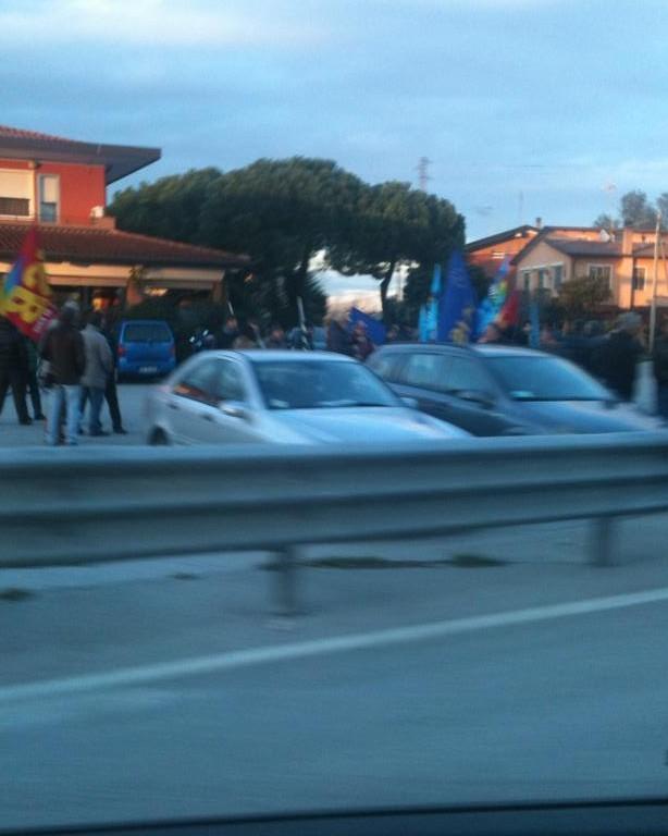 romea protesta