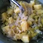 Minestra di porri patate e riso Realcooking