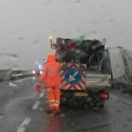 camion capottato