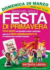 festa di Primavera Bahia del sole 2