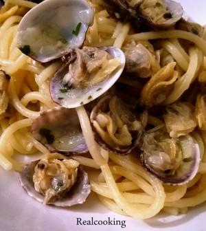 Spaghetti ai Caparòssoli Realcooking