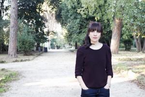 nadia terranova a Chioggia il 4 aprile