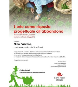 slow food chioggia plus nino pascale