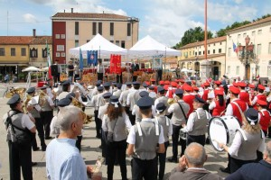 La Banda di Chioggia e quella di Mirano in occasione del 160° anniversario della Filarmonica di Mirano