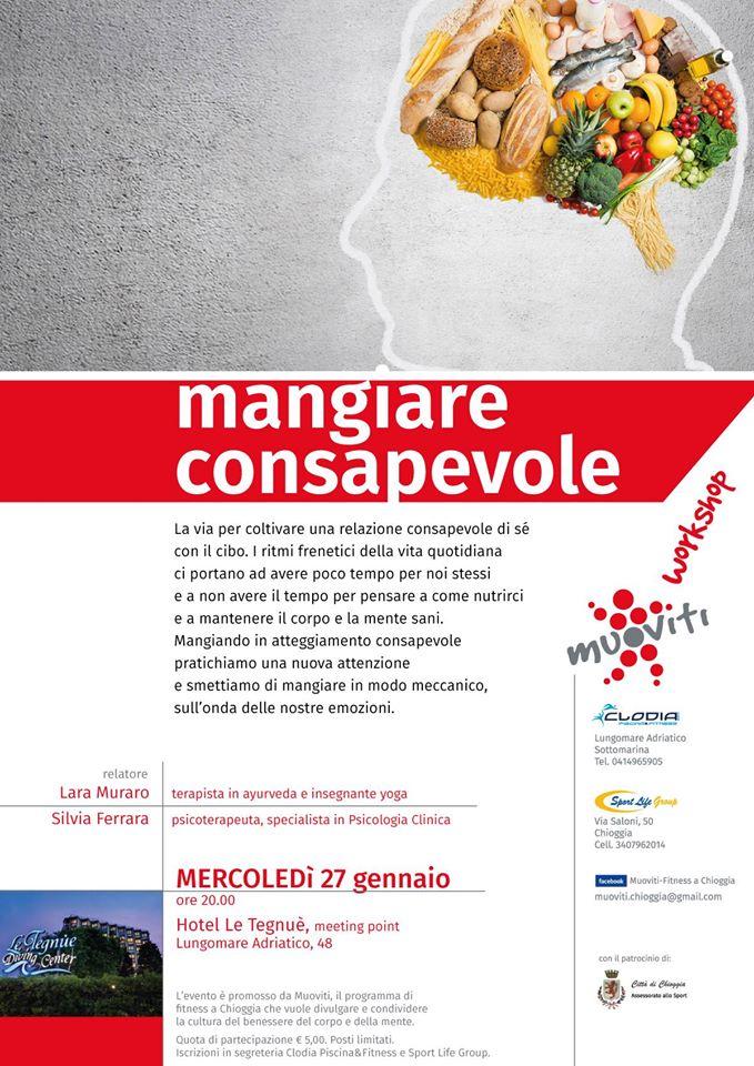 Mangiare Consapevole. Workshop Muoviti