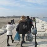 Amico Giardiniere pulizia spiaggia Sottomarina (12)