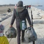 Amico Giardiniere pulizia spiaggia Sottomarina (13)
