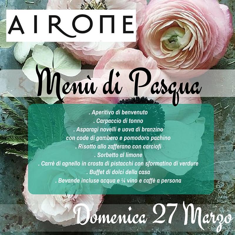 Pranzo Pasqua  Hotel Airone